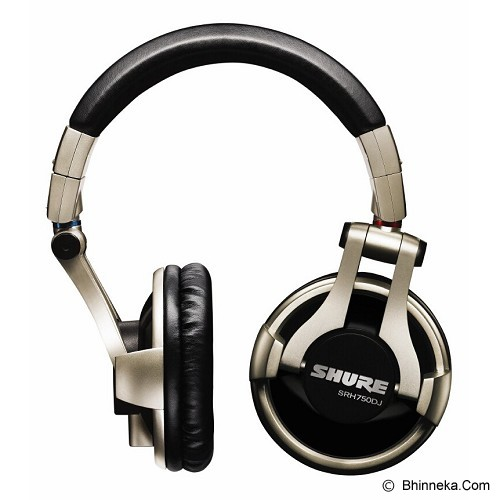 SHURE Professional DJ Headphone [SRH750DJ] - Headphone Full Size